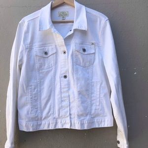 LUCKY BRAND XL white jacket